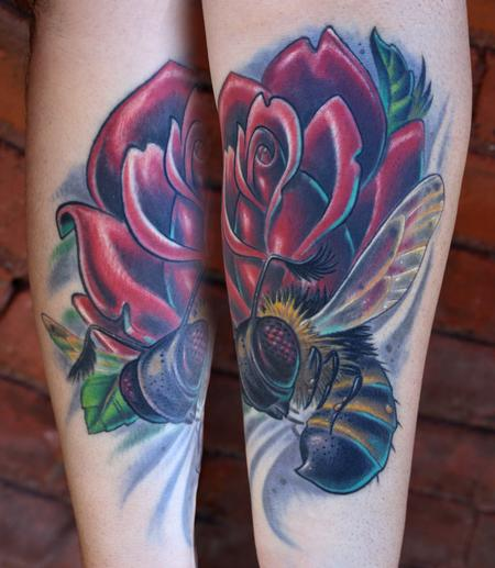 Tattoos - Brian's Bee - 74354