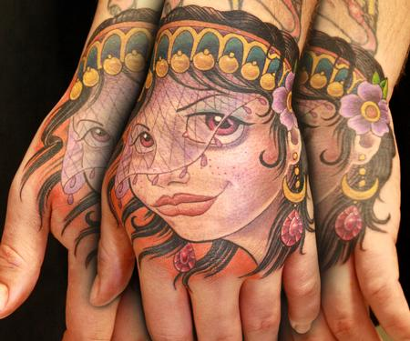 Tattoos - Leif's Gypsy Hand - 92110
