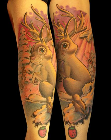 Tattoos - The elusive jackalope - 87462