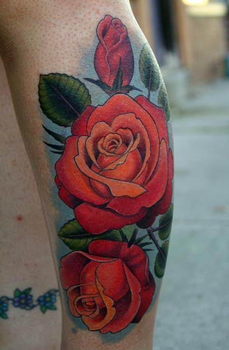 la Rosas Tattoo Design Thumbnail