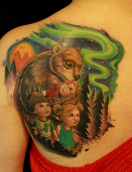 Tattoos - Momma Bear - 76547