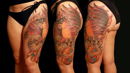 Tattoos - phoenix tattoo - 96463