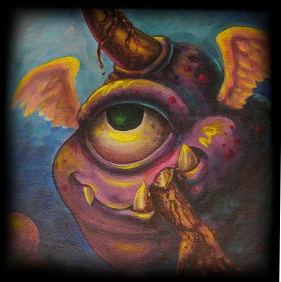 Tim Senecal - One eyed one horn flying purple people eater