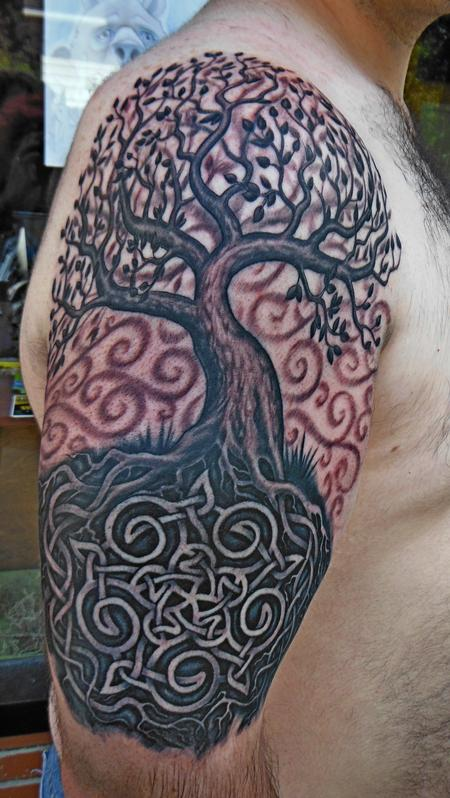 Tim Senecal - wiccan tree of life