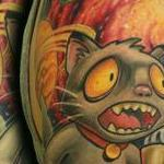 Tattoos - Coffee Cat in Space !!! - 125477