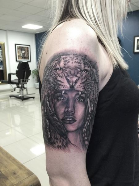 Tattoos - Portrait tattoo - 101740