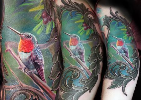 Tattoos - Amanda's Hummingbird - 114345