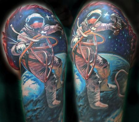 Tattoos - Astronaut - 117092