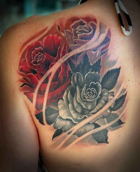 Roses Tattoo Design