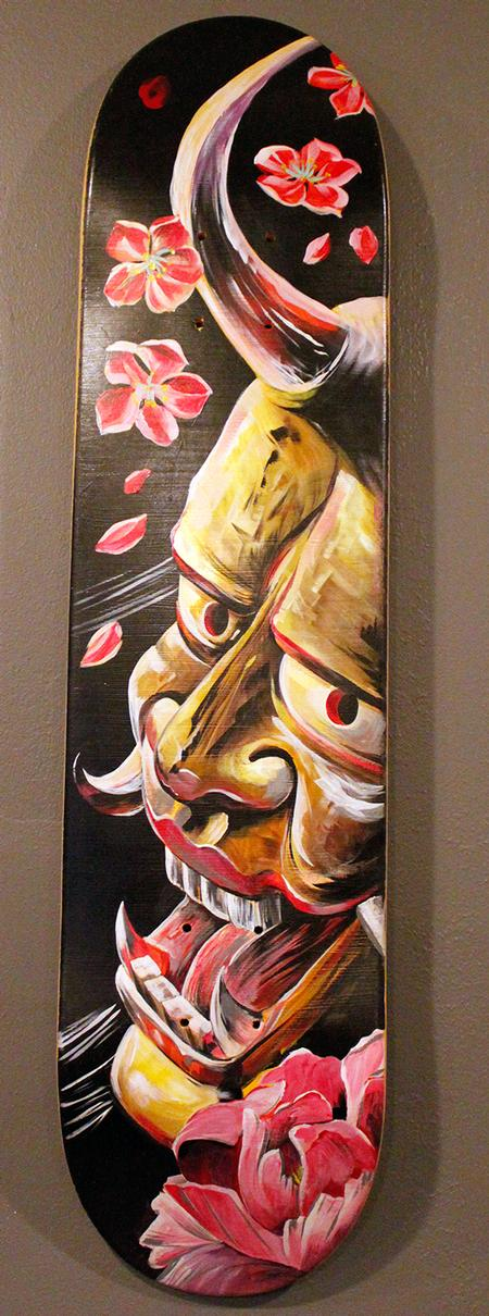 Tattoos - Acrylic Hannya - 116459