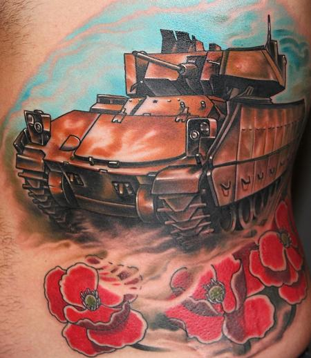 Tattoos - Tank and Poppies - 94112