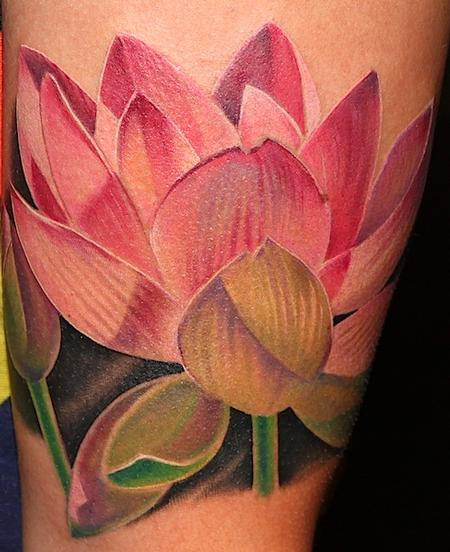 Tattoos - Lotus - 94205