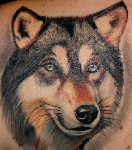 Tattoos - Wolf - 96084