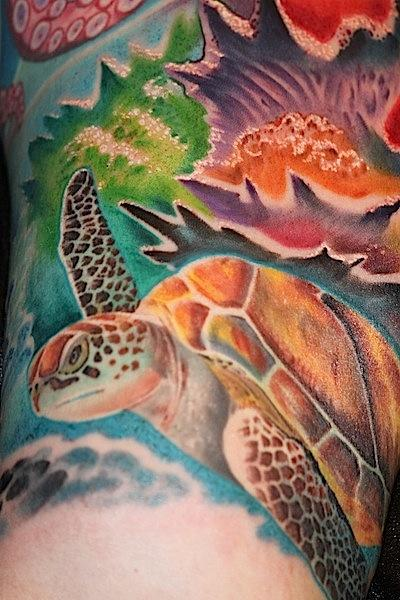 Tattoos - Sea Turtle - 67593