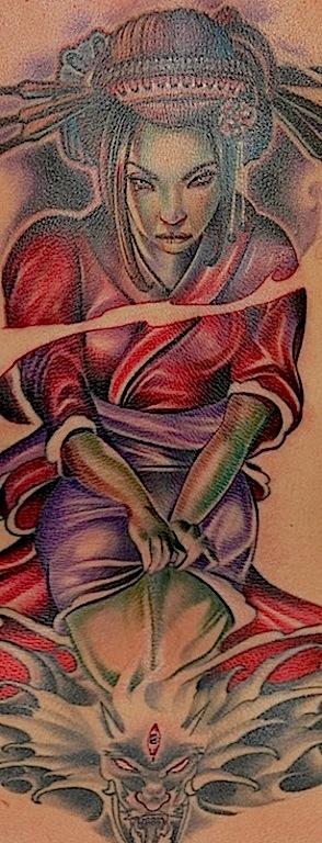 Tattoos - Zombie Geisha - 91146
