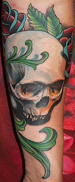 Skull Tattoo Design Thumbnail
