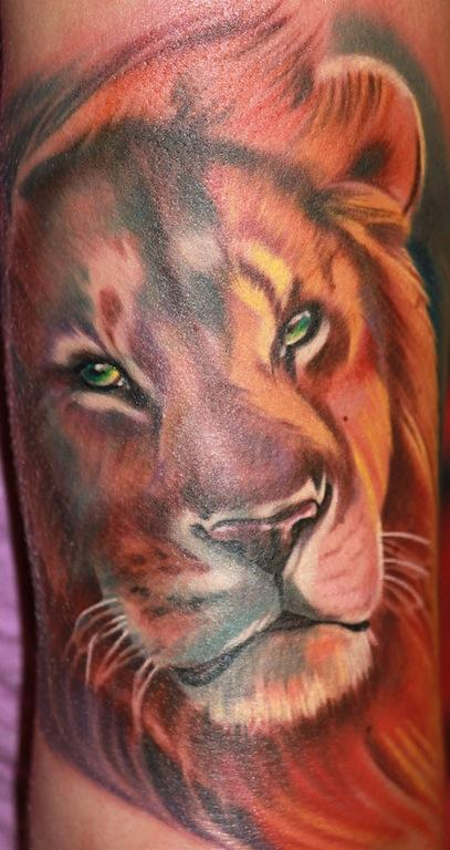 Tattoos - Lion