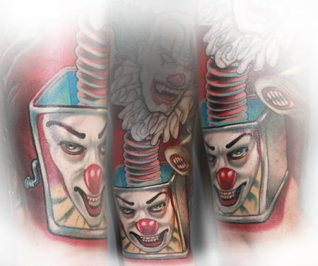 Tattoos - Clown in da Box - 104791