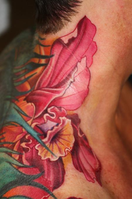 Tattoos - Flower - 101286