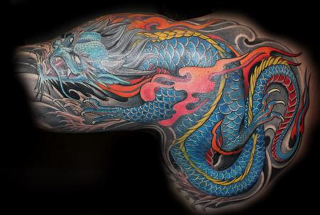 Tattoos - Dragon - 101754