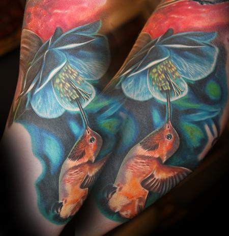 Tattoos - Hummingbird  - 106367