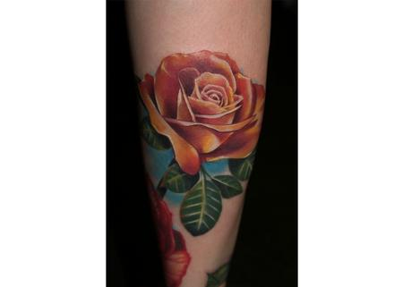 Tattoos - Jamie Lynn's Rose - 116145