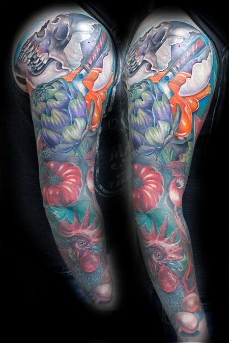 Tattoos - Chef sleeve - 119128