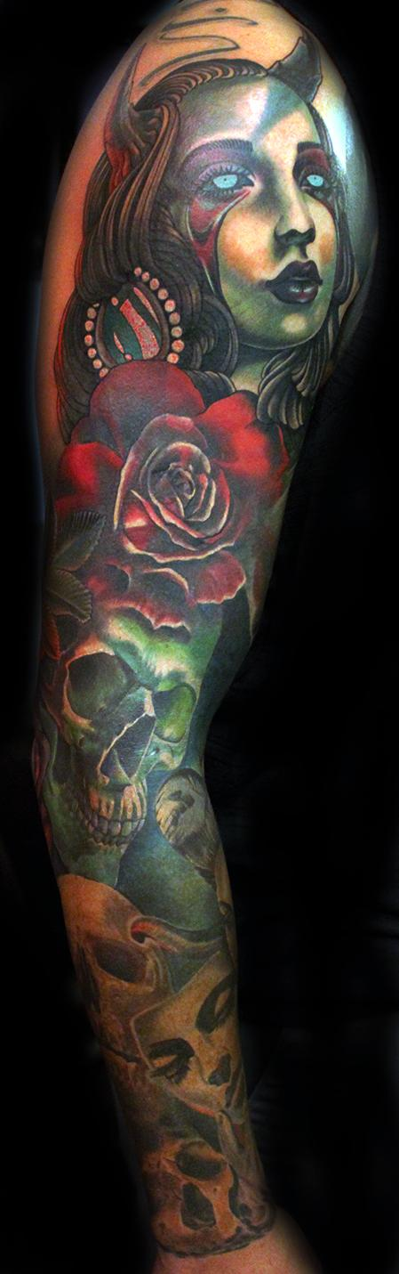 Tattoos - Mark's sleeve - 122710