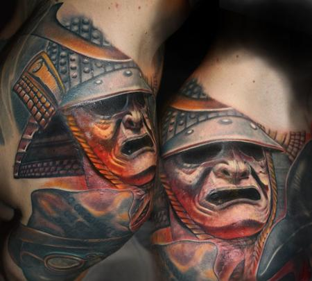 Tattoos - Matt's Samurai - 114895