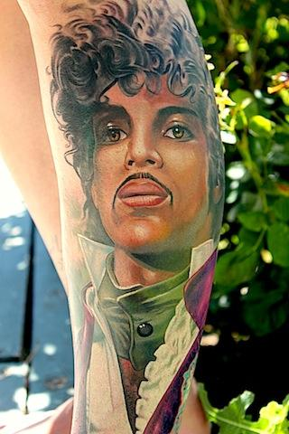 Tony Adamson - Prince Tattoo
