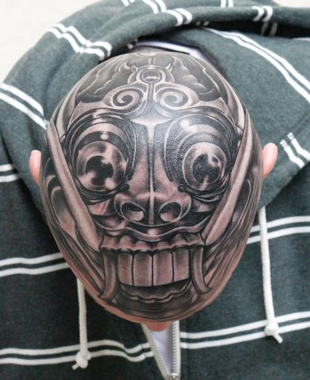 Tattoos - Balinese Mask - 74584