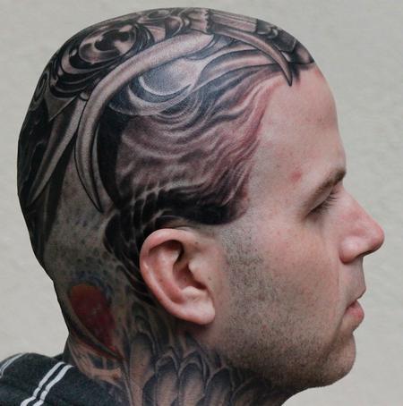 Tattoos - Balinese Mask - 74583