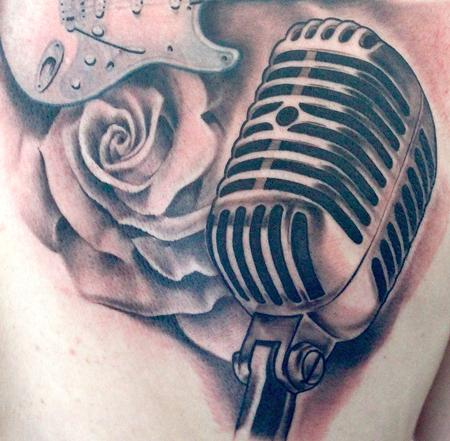 Tattoos - MIcrophone - 91771
