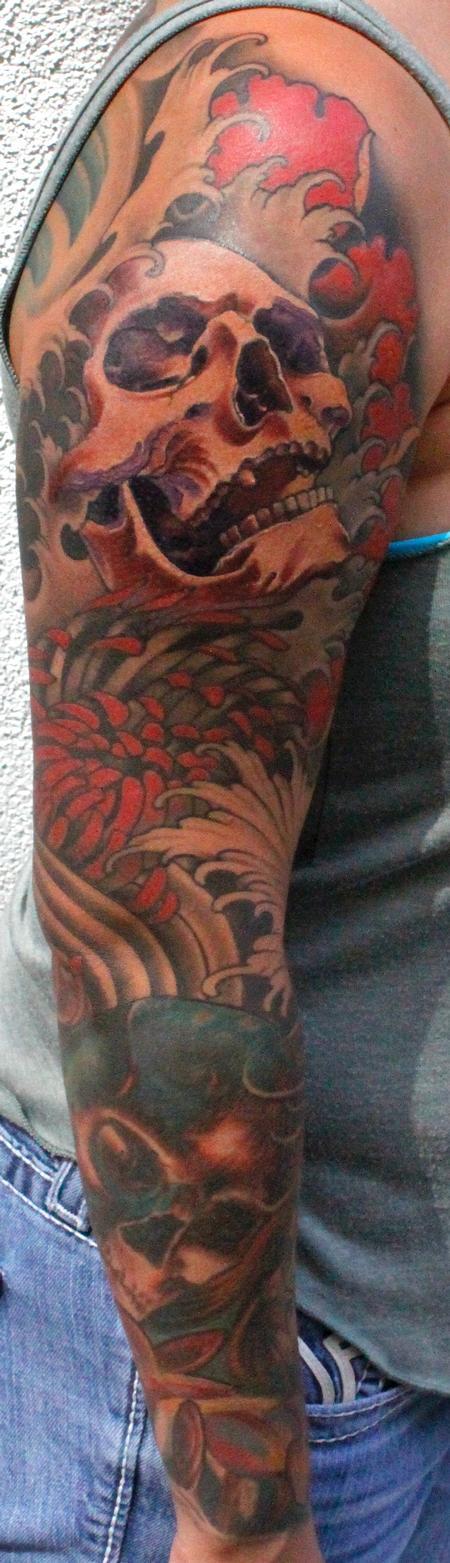Tattoos - Rachel's sleeve - 92135