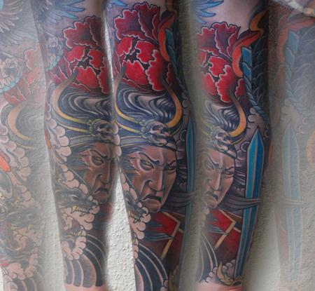 Tattoos - samurai - 104639