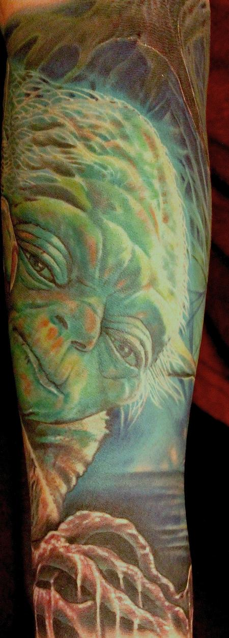 Yoda Tattoo Design Thumbnail