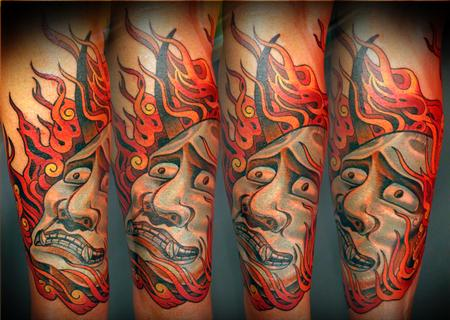 Tattoos - Hannya - 109071