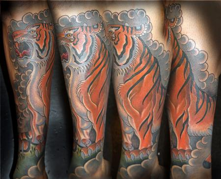 Tattoos - Tiger - 110144