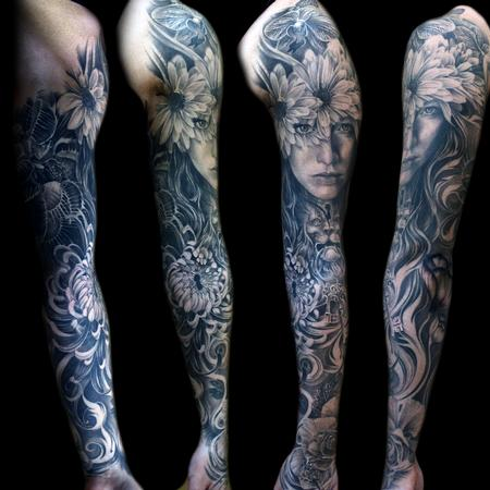Tattoos - Flowermorph - 108853