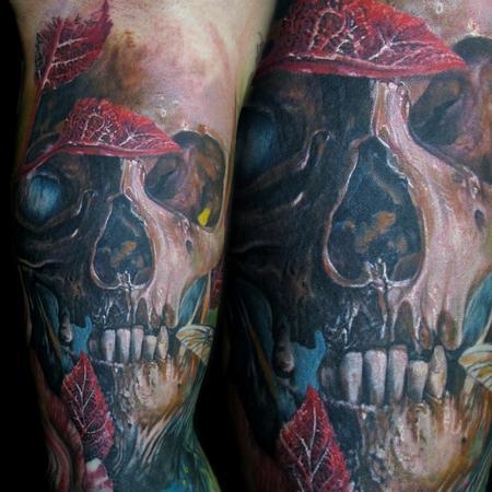 Tattoos - Skull - 98202
