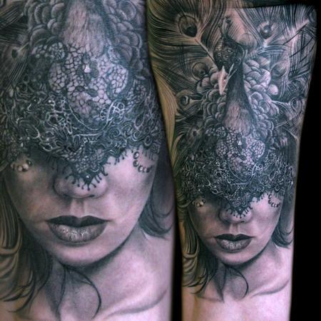Tattoos - Peacock - 98260