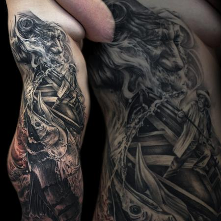 Tattoos - The old man and the Sea - 125300