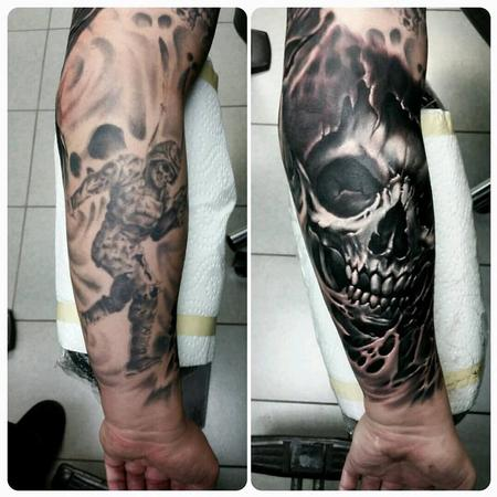 Tattoos - reaper cover up - 128763