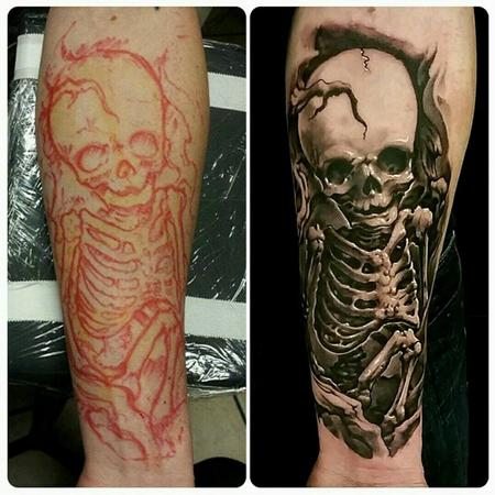 Tattoos - skeleton - 128773
