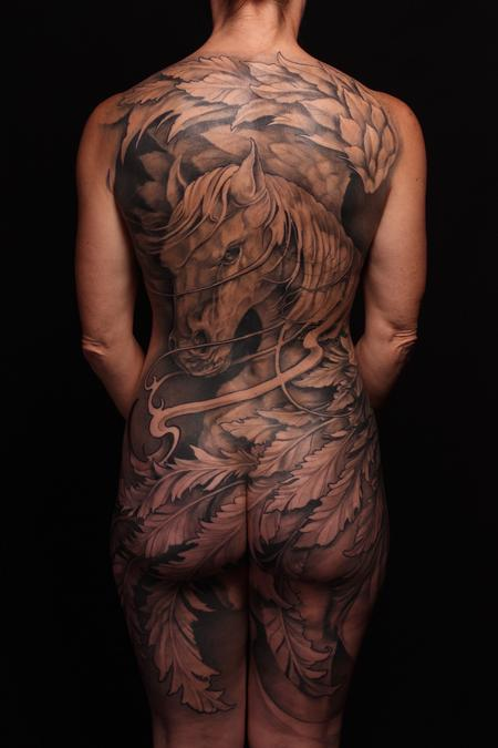 Tattoos - Freehand Pegasus - 119512