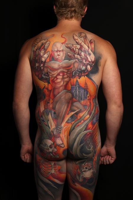 Tattoos - Intervention Backpiece - 129785