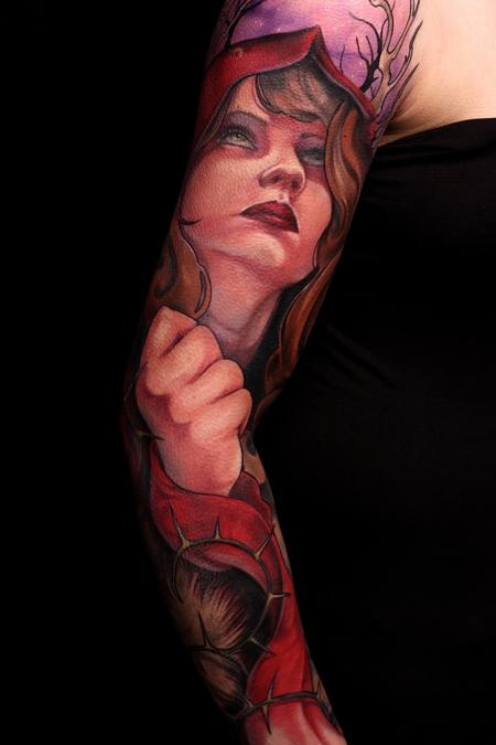 Gabriel Tenneson - Little Red Riding Hood Sleeve