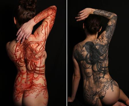 Gabriel Tenneson - Storm Surrender Full Backpiece