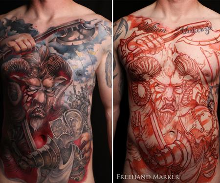 Tattoos - The Fantastic Battle Torso - 129736