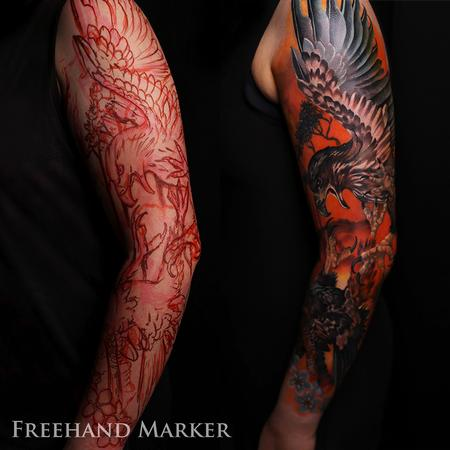 Tattoos - Fighting with Fire Sleeve - 130565